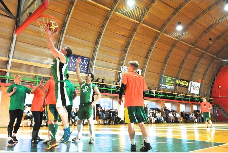 Partijų krepšinio  turnyre triumfavo liberalai
