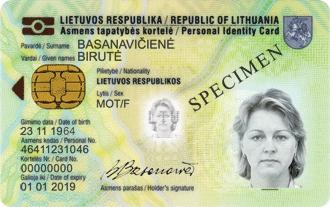 Migracijos padaliniai primena – užsakyta gaminti tapatybės kortelė saugoma tik 1 metus