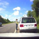 Sustabdytas Automobilis Policija