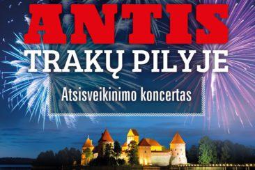 Antis Trakų pilyje