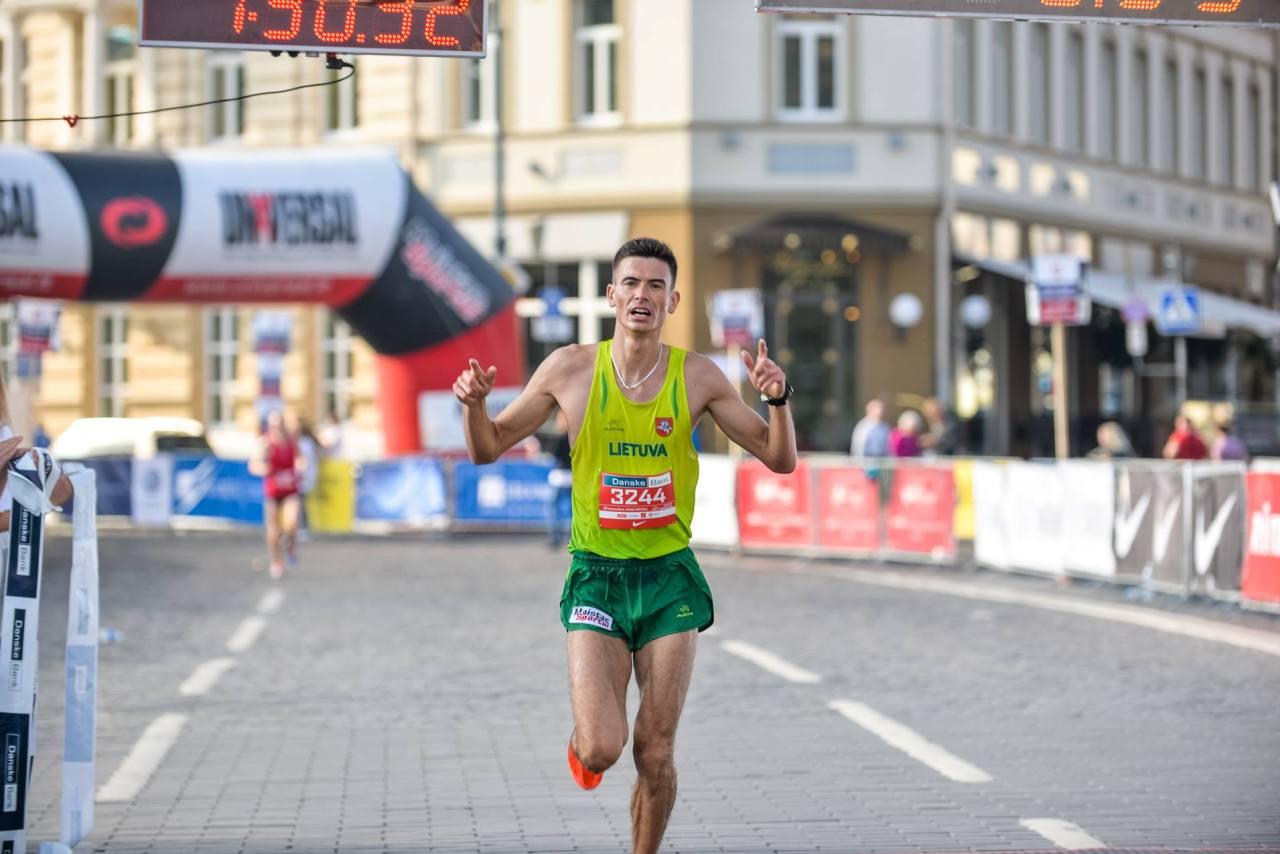 Sekmadienį Pilies aikštėje – Lietuvos maratono čempionas