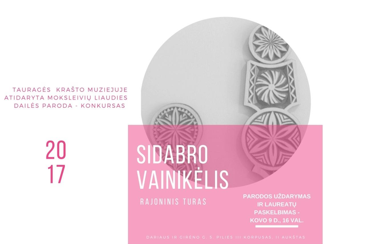 """Krašto muziejuje atidaroma moksleivių liaudies dailės paroda """"Sidabro vainikėlis"""""""