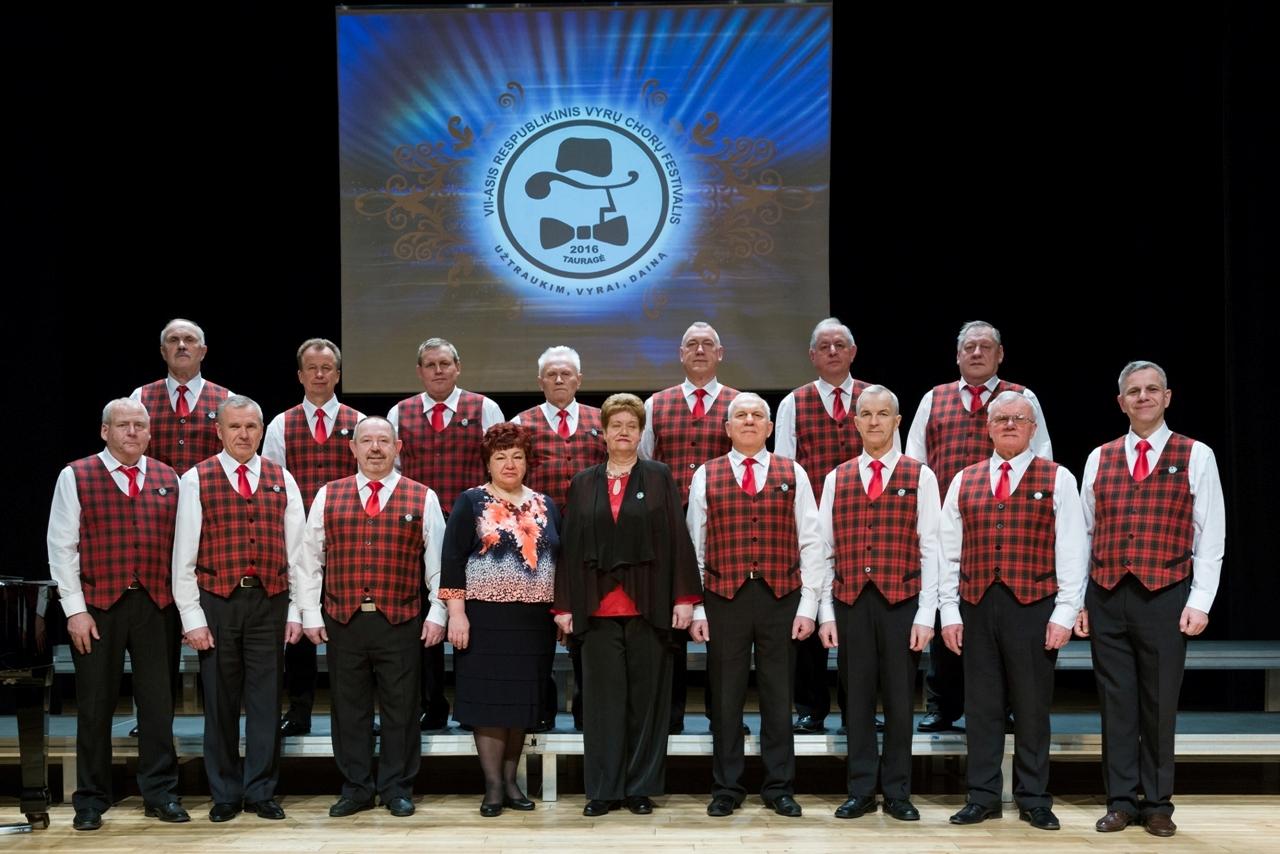 Aštuntasis vyrų chorų festivalis Tauragėje – jau tarptautinis (nuotraukos)