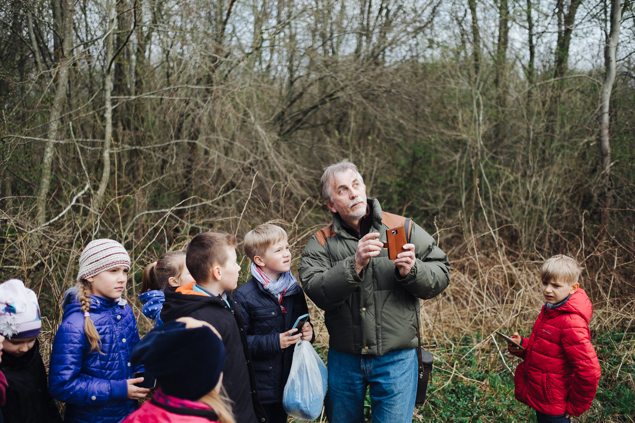 Bundančiame Oko miške – pažintinė ekskursija