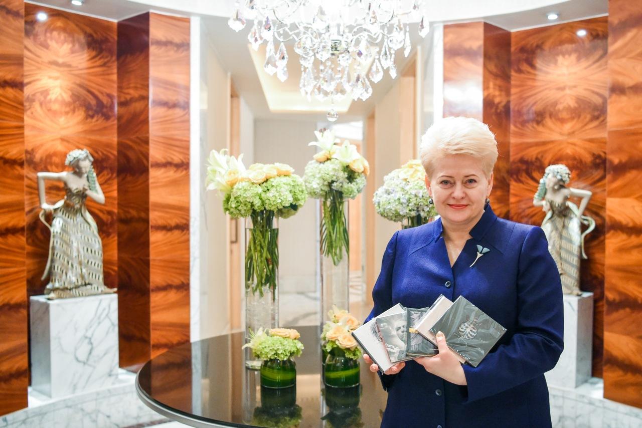 Dalia Grybauskaitė – Lietuvos roko muzikos ambasadorė