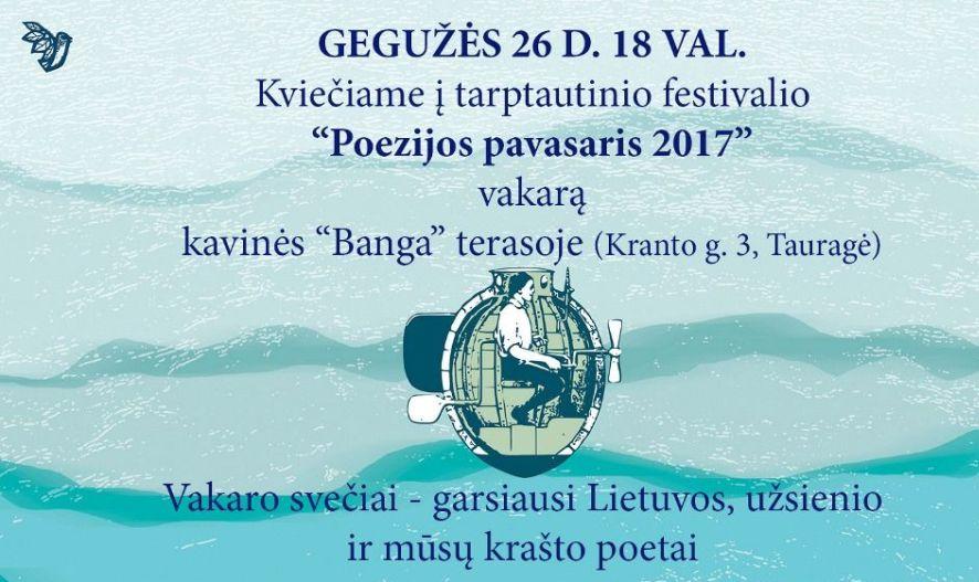 Poezijos šventė Tauragėje