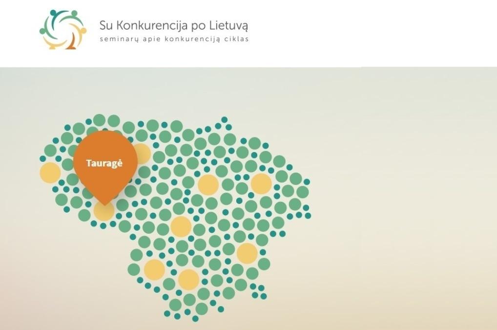 Su Konkurencija Po Lietuvą atvyksta į Tauragę!
