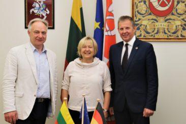 Vilmantas Liorančas, Erika von Heimburg ir Sigitas Mičiulis