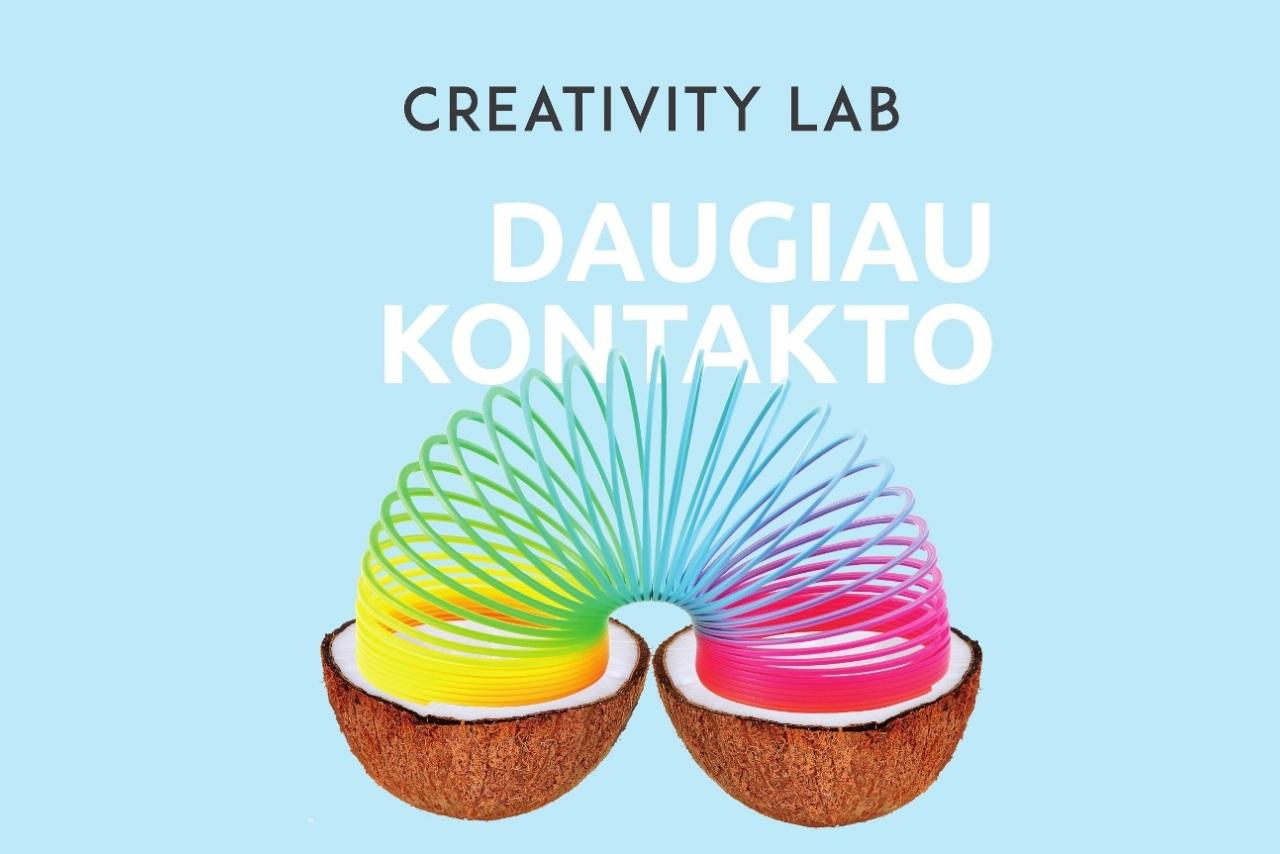 """Prasidėjo registracija į """"Creativity LAB-Tauragė"""""""