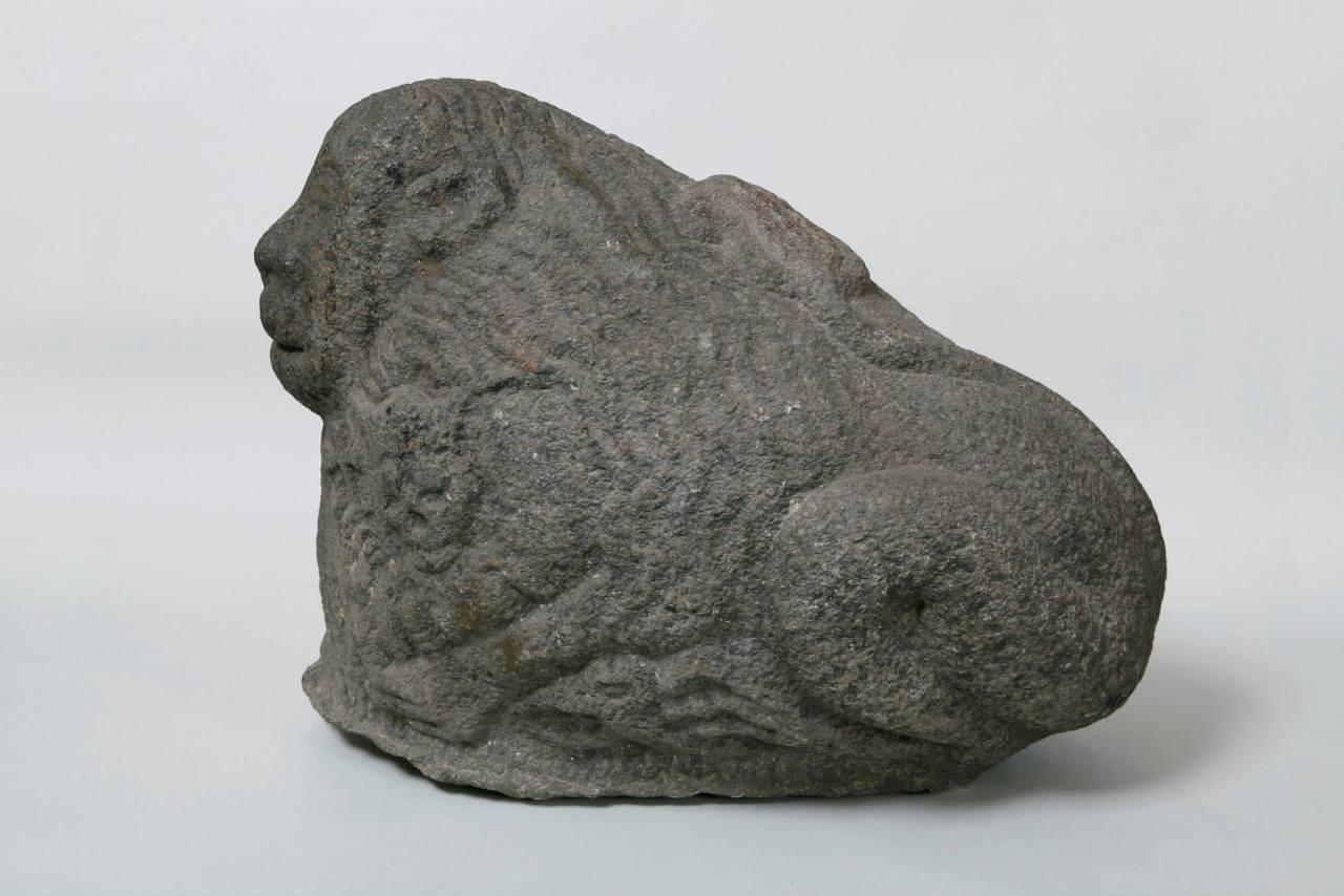 Garsioji XIII a. Žygaičių liūto statula atgabenta į Tauragę