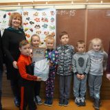 Lomių pagrindinės mokyklos 1 klasės komanda