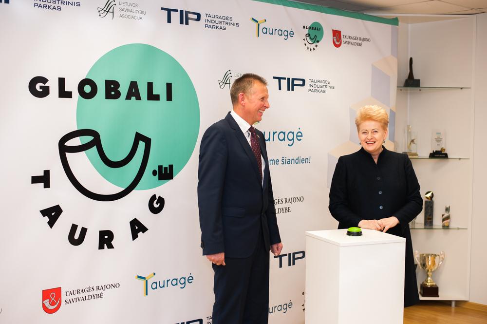 D. Grybauskaitė: Tauragės pavyzdys rodo, kad emigrantai nori grįžti į Lietuvą (audio, video, nuotr.)