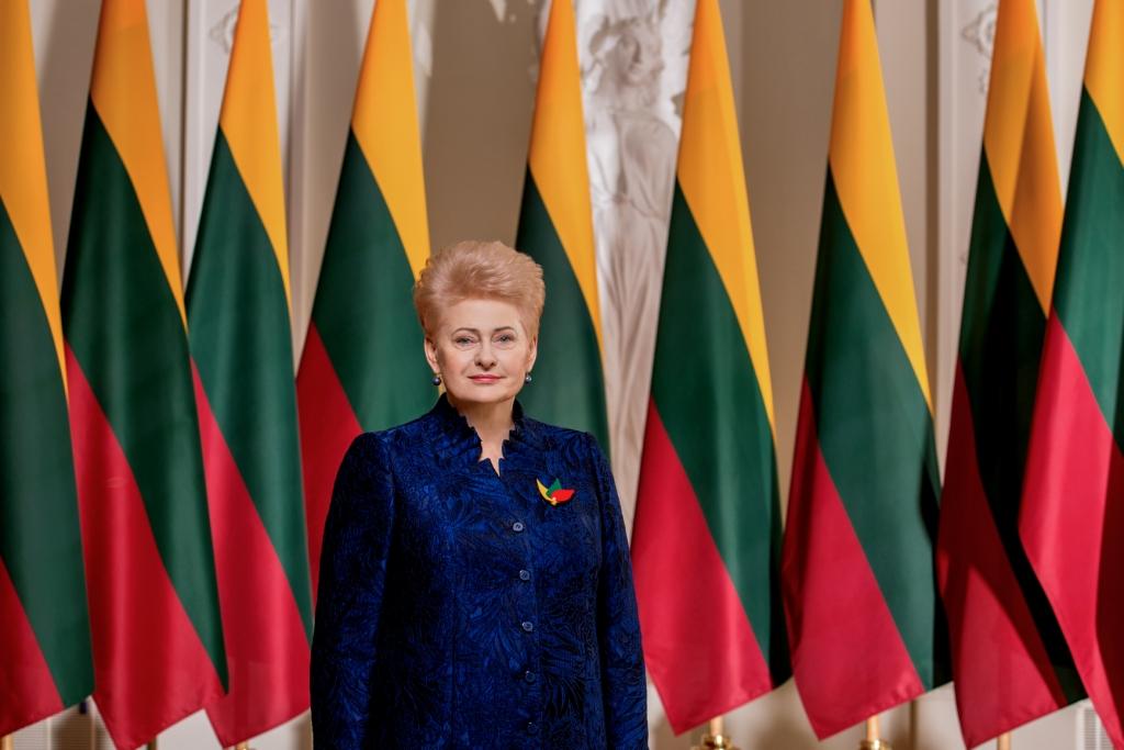 Lietuvos Respublikos Prezidentės Dalios Grybauskaitės sveikinimas Vasario 16-osios proga