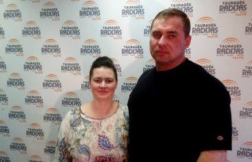 Sandra Martinkienė ir Aleksandras Martinkus