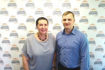 Modestas Petraitis ir Diana Vaitiekinenė