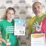 Viktoras Šaulys ir Laura Capaitė