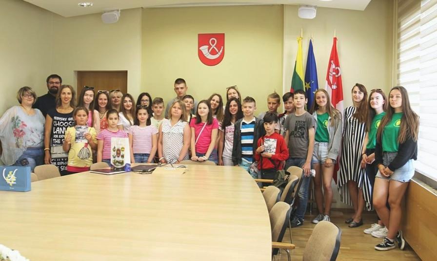 Tauragėje svečiuojasi ir stovyklauja vaikai iš Ukrainos