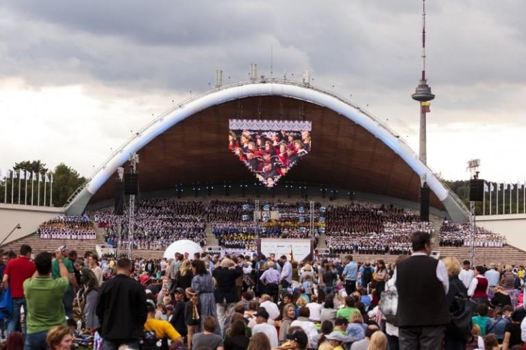 Bus įvertintas Dainų šventės organizavimas