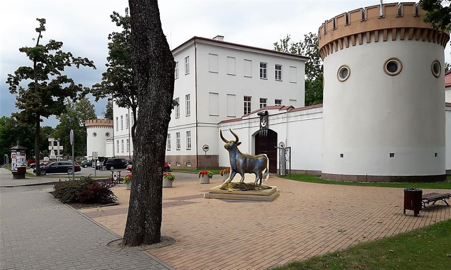 """Kviečia teikti pasiūlymus dėl dekoratyvinės skulptūros """"Tauras"""" statybos vietos"""