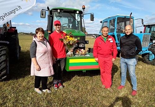 Juodaičių ūkininkai - Lietuvos artojų varžybų prizininkai