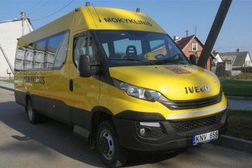 Nauji geltonieji autobusai – trims Tauragės rajono mokykloms