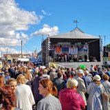 Skaudvilės miesto šventės linksmybės tęsėsi dvi dienas