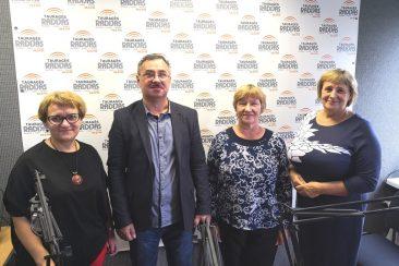 Svetlana Jasinskiene, Valdas Armonas, Miksiene Aksavera, Danute Bardauskiene. TauragesRadijas.lt foto