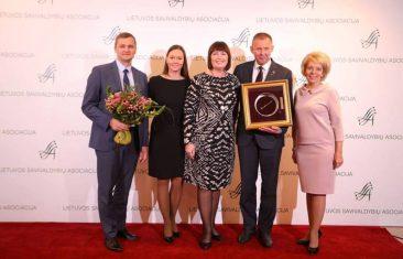"""""""Auksinės krivūlės"""" apdovanojimas vėl atkeliauja į Tauragės savivaldybę"""