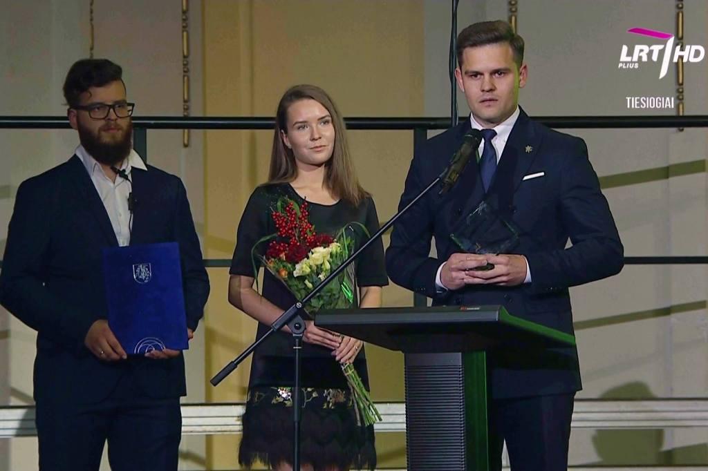 Tauragės savivaldybei už globalios Tauragės idėją įteiktas garbingas apdovanojimas