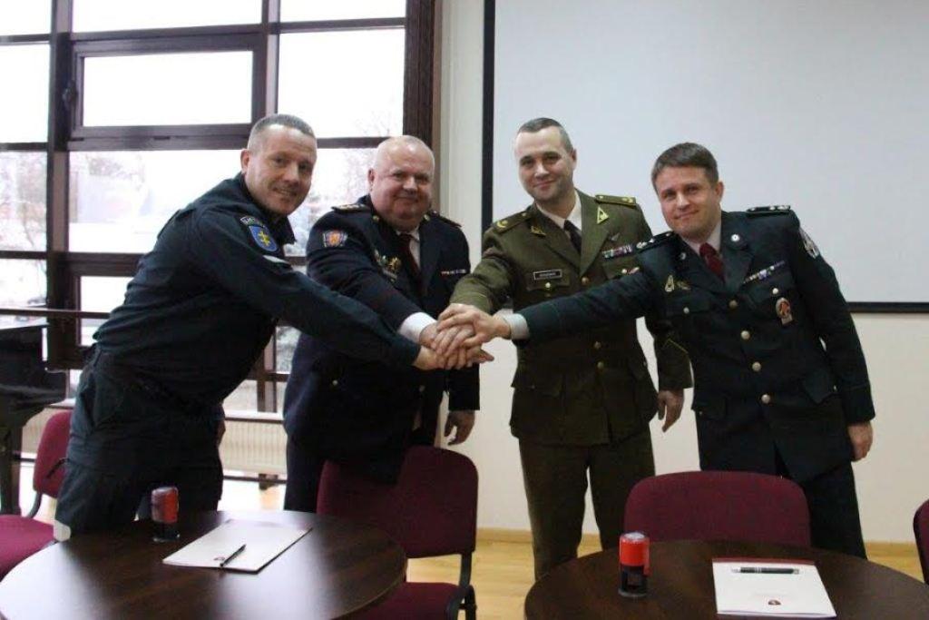 Pasirašyta tarpinstitucinė bendradarbiavimo sutartis