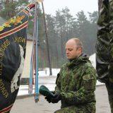LDK Kęstučio bataliono vadu tapo pulkininkas leitenantas Vytis Andreika
