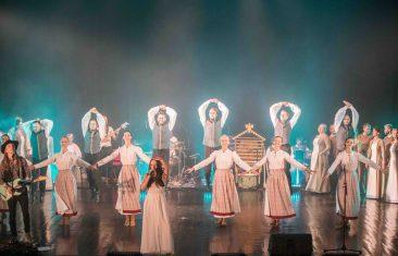 """Atsinaujinęs ansamblis """"Lietuva"""" pristato unikalų projektą su folkroko grupe """"Žalvarinis"""""""